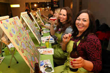 Paint Nite - Entry to a two hour Paint Nite event  - Save 44%
