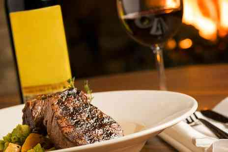 76 Bar & Grill - Two Course Fine Dining Plus Optional Wine for Two or Four - Save 56%