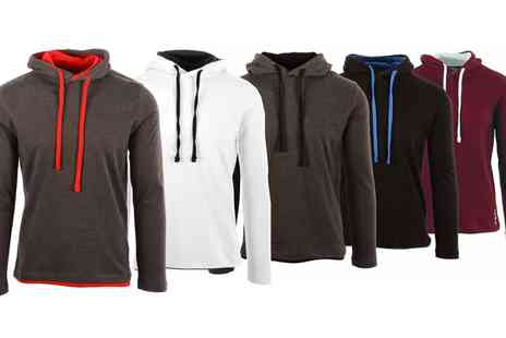 Groupon Goods Global - Mens Luga Slim Fit Hoodie in Choice of Size With Free Delivery - Save 13%