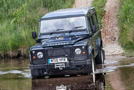 Land Rover Driving - One Hour 4x4 Land Rover Driving Thrill  - Save 25%