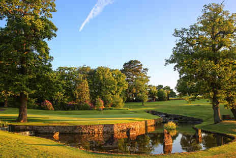 Macdonald Portal Hotel Golf & Spa - 18 holes of Championship golf with bacon rolls and coffee for two - Save 74%