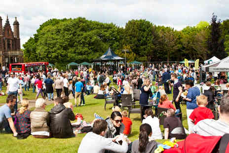 Great British Food Festival -Two tickets to the Great British Food Festival  - Save 50%