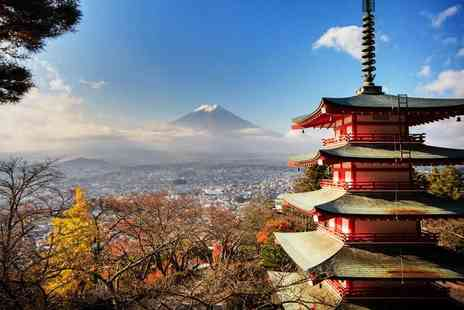 Travel Center UK - Five night Taste of Tokyo trip including flights, accommodation, breakfast and tours - Save 0%