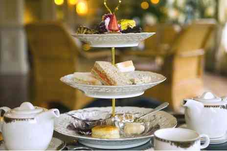 Shrigley Hall Hotel - Afternoon Tea with Glass of Bubbly for Two or Four - Save 0%