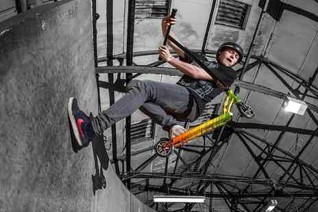 Rampworx Skatepark - Stunt Scooter Tips and Tricks Session for One or Two - Save 0%