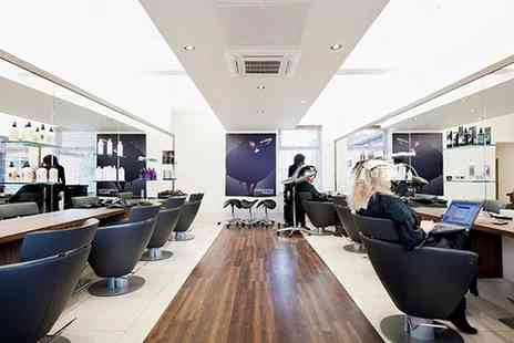 Christopher Wright Hair - Cut with a Finish and Optional Regrowth Touch Up, Half Head of Foils or Full Colour and More  - Save 0%