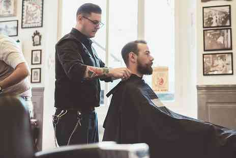 Charisma Hair & Beauty - Gents Hair Wash, Cut and Scalp Massage with Eyebrow Shape and Tint - Save 0%