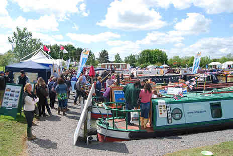 Crick Boat Show - Two adult tickets to the Crick Boat Show on Monday 30th May 2016  - Save 57%
