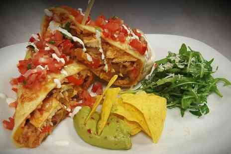 Ritas Bistro - Choice of Mexican Main Course for Two or Four - Save 48%