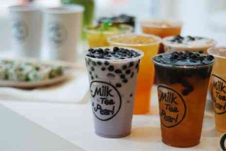 Milk Tea & Pearl - Bubble Tea for Two or Four - Save 43%