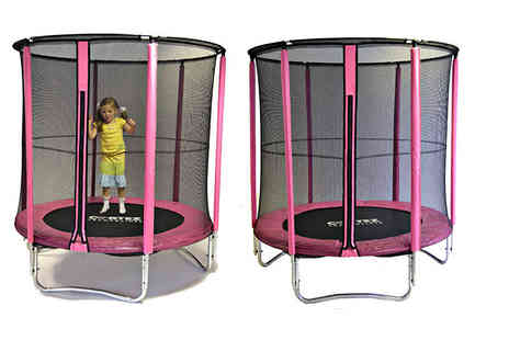 Create Leisure - 4.5ft Cortez trampoline with enclosure - Save 69%