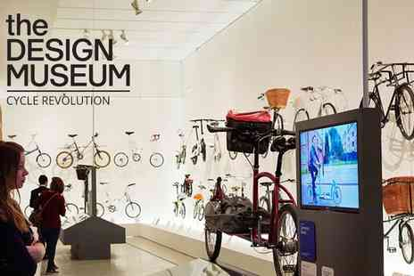 Design Museum - Design Museum One, Two or Four Tickets to the Cycle Revolution Exhibition - Save 40%
