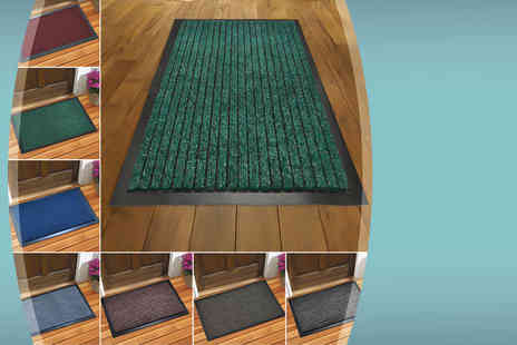 The Rug Shop - Dirt grabber doormat in a choice of six sizes and seven colours - Save 83%