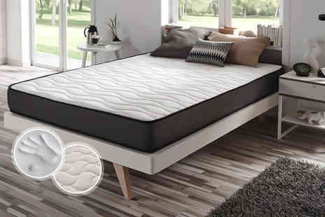 Gourmentum - Luxury Viscoelastic Cloud memory foam mattress choose single, double or king size  - Save 74%