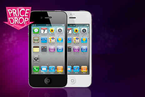 Fone Plaza - Unlocked refurbished Apple iPhone 4 8GB or 16GB - Save 30%