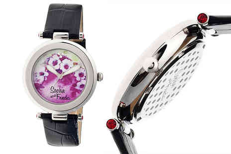 Ideal Deal - Ladies Versailles watch choose from five strap colours - Save 93%