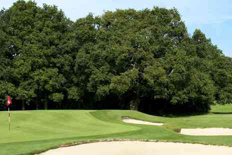 Leatherhead Golf Course - Round of 18 Hole Golf Plus Coffee Each for Two or Four - Save 63%