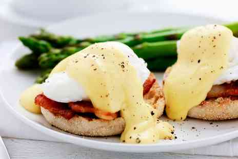 Bistro Guy - Full English, Eggs Florentine or Benedict or Pancakes With A Tea Or Coffee Each - Save 31%