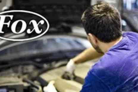 Fox Garage Services - 54 Point Car Service With Oil Change and Fuel Economy Treatment - Save 70%