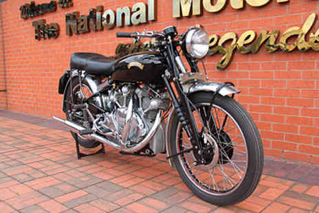 The National Motorcycle Museum - Visit to The National Motorcycle Museum for Two Adults - Save 0%