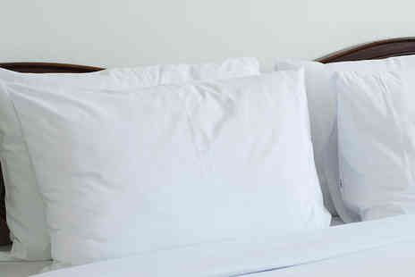 Style Beddings - Luxury Duck Feather and Down Pillows - Save 44%