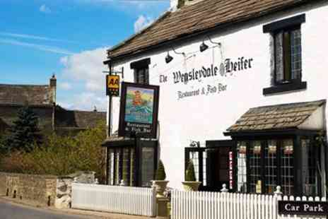 Wensleydale Heifer - Telegraph Recommended Inn 6 Course Menu for 2 - Save 0%