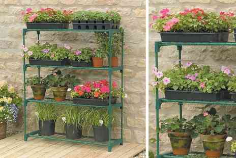Oypla - Greenhouse display shelving - Save 71%