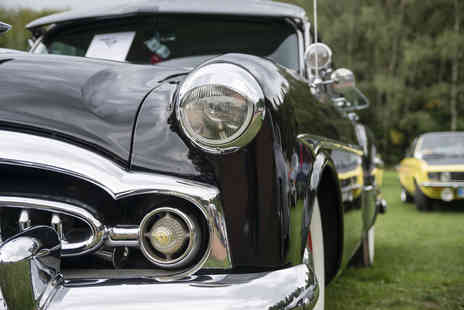 The Borders Vintage Automobile Club - Vintage car show tickets for two - Save 33%