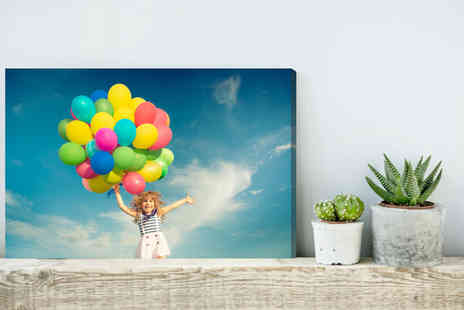 Fab Deco - Personalised canvas choose from A3 or A4  - Save 90%