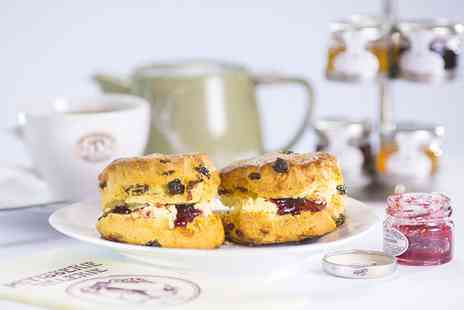 Patisserie Valerie - Cream tea for two - Save 51%