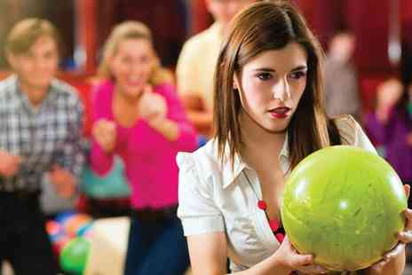 Superbowl UK Merthyr - Two Games of Bowling for Four - Save 50%
