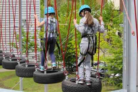Rock Summit Centre - High Ropes Course for One, Two or a Family of Four - Save 0%