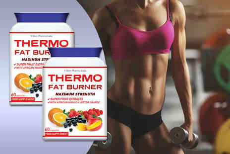 Slim Pharma Labs - Two month supply of Thermo Fat Burner supplements - Save 0%