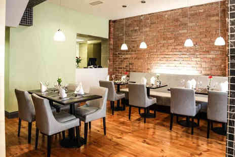 Sophia Restaurant Belfast - Two course 12oz sirloin steak dinner for two - Save 33%