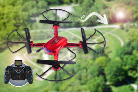 Globi Toys - Nibiru XR 1 remote controlled drone quadcopter with photo and video surveillance - Save 73%