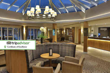 The Best Western Plus Manor House Hotel - Cheshire break including breakfast and leisure access for two - Save 40%