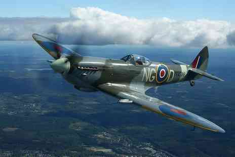 Into the Blue - Spitfire Cockpit Experience with Tour, Lunch and Gift - Save 21%