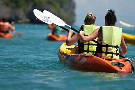Leam Boat Centre - One Hour Introduction to Kayaking for One or Two  - Save 60%