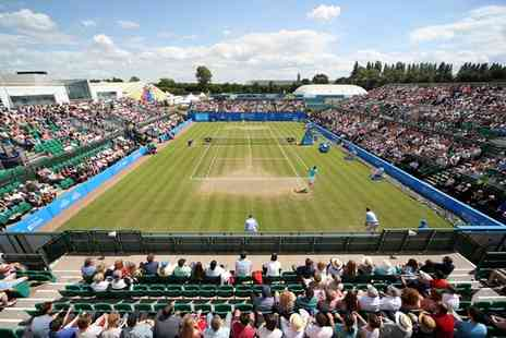 LTA British Tennis - Entry to Aegon Open Nottingham and Donation to the Rainbows Hospice on 6 June - Save 0%