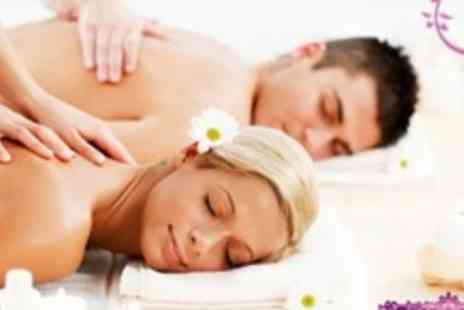 Aprils House of Beauty - Back Massage, Facial, and Manicure For Two With Beauty Consultation - Save 68%