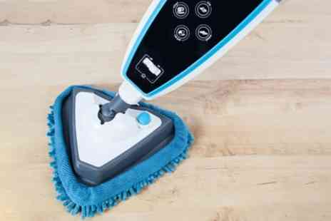 Groupon Goods Global GmbH - Vax S86-SFT Steam Fresh Touch Steam Mop and Solution With Free Delivery - Save 72%