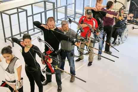 Archery Fit - 90 Minute Archery Lesson for One or Four - Save 37%