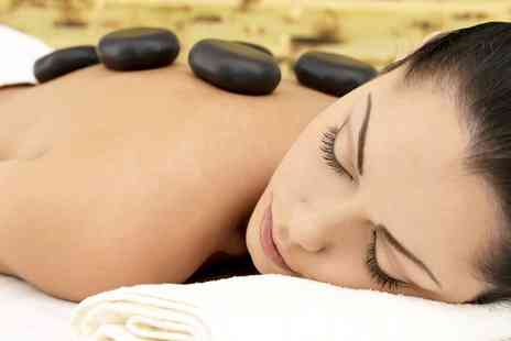 Elegance hair and beauty - 60 Minute Deep Tissue and Hot Stone Massage for One or Two - Save 64%