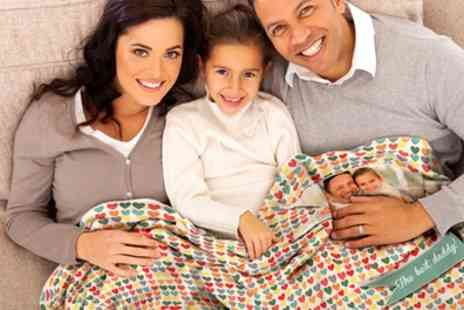 Regalos Personalses - Personalised Polar Blanket in Choice of Sizes - Save 49%