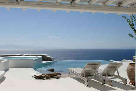 Kirini My Mykonos Retreat - Five Star 7 nights Stay in a Junior Sea View Suite - Save 57%