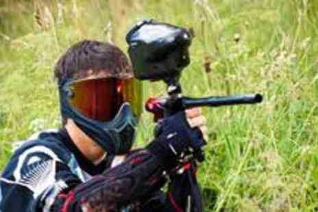 Campsie Commandos - Full day of paintball for four people including a light lunch - Save 89%