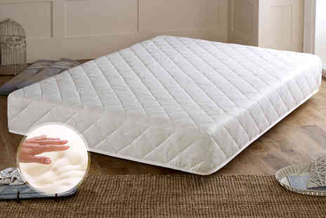 This is Nice - Pocket Comfort 3000 single,double, small double or king size pocket sprung reflex foam mattress - Save 69%