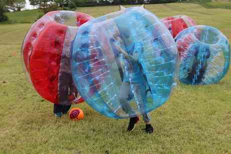 SphereMania Nottingham - Bubble Football, Grass Sledging and More Kids Activity Package for One or Two  - Save 0%