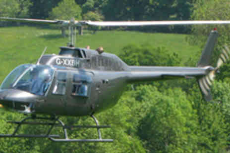HH Helicopters - Half hour helicopter experience flying over Bridgnorth - Save 62%