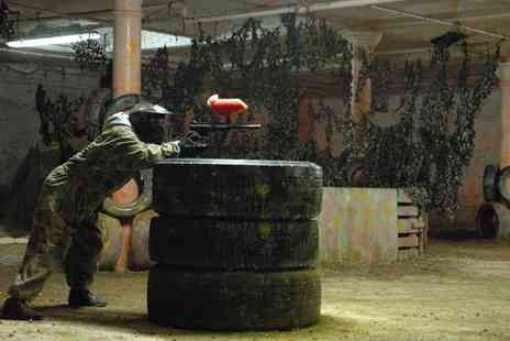 Manchester Paintball Arena - Paintball session for up to ten including 100 paintballs each - Save 97%